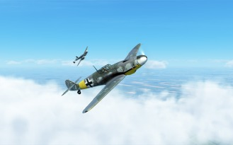 Bf109G-4-and-Bf110G-2