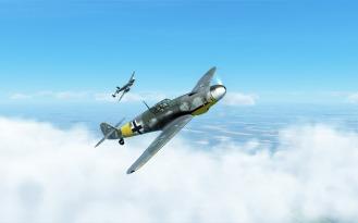 Bf109G-4-and-Bf110G-2