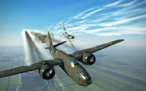 Bf109G-4-damaged-A-20