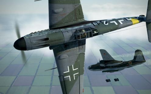 Bf109G-4-gunpodded-A-20