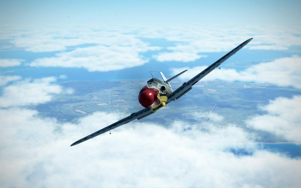 Bf109G-6-rednose