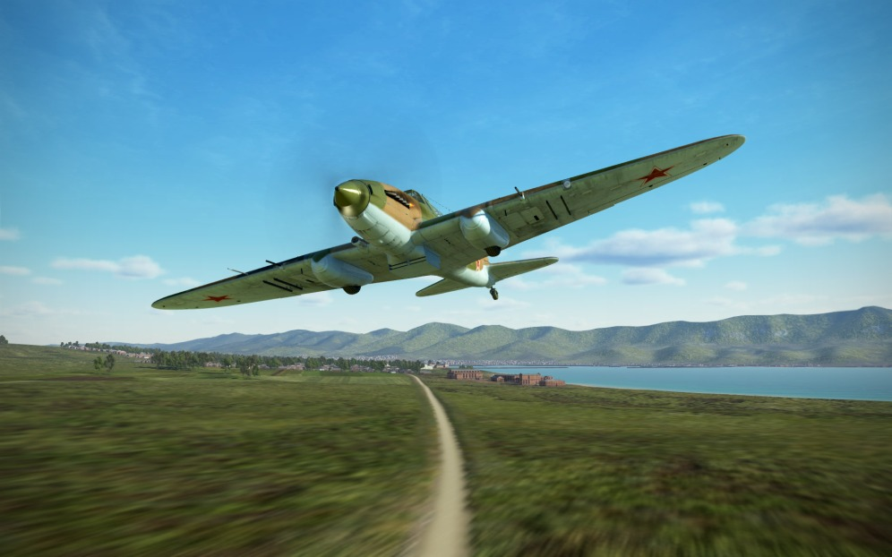 Fast and low in an IL-2 Model 1943