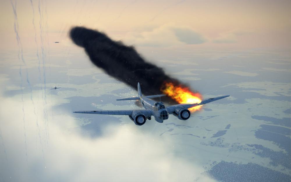 Ju88-blue-fire