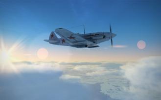 MiG3-winter-sun