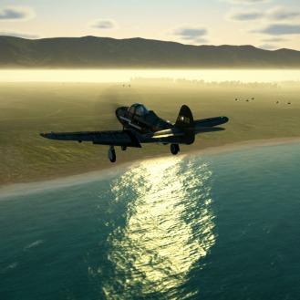 P-39-foggy-landing