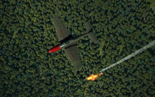 P-39-overhead-fireball