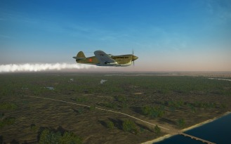 P-40-damaged