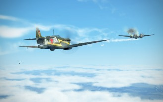 SpitfireVb-bomberattack