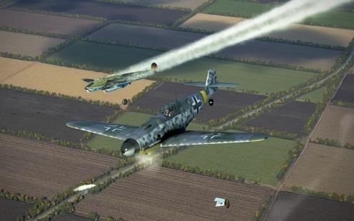 Bf109G-4-pe2victory