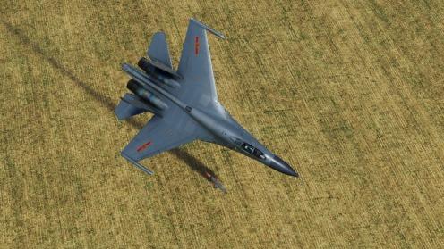 J-11A-smoke