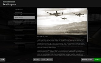 The interface for Scripted Campaigns is clear and easy to work with