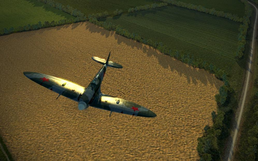 SpitfireVb-morning-glint