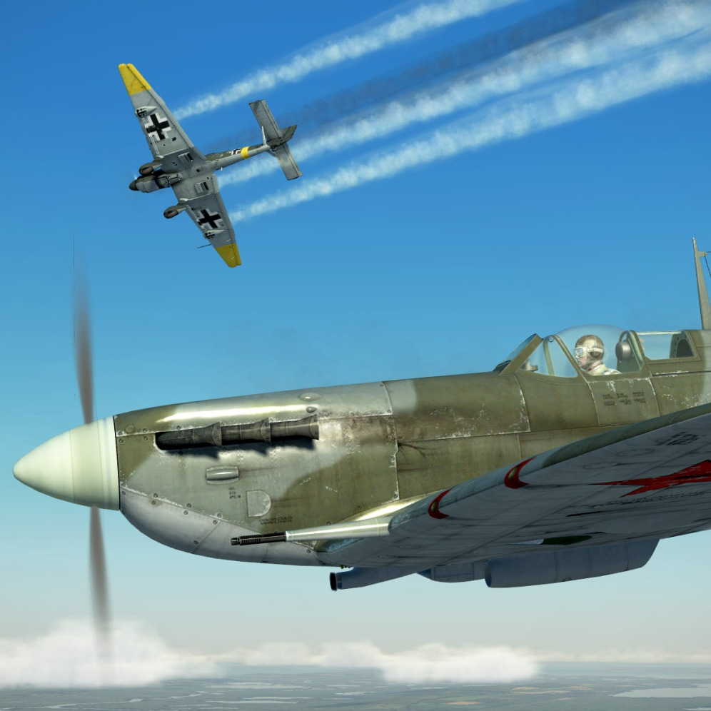 SpitfireVb-stuka-down