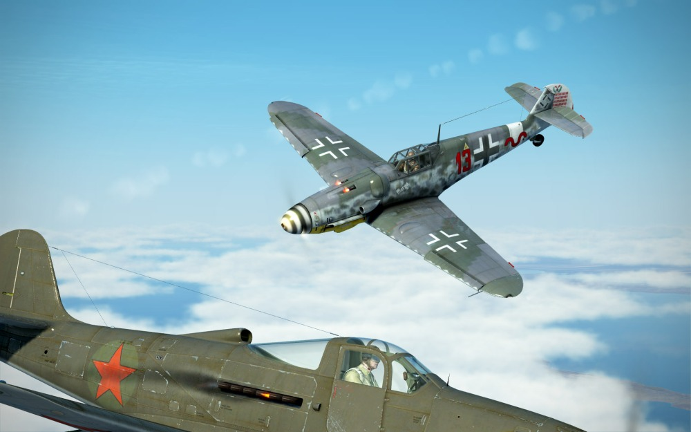 Bf109G-6-flash-past