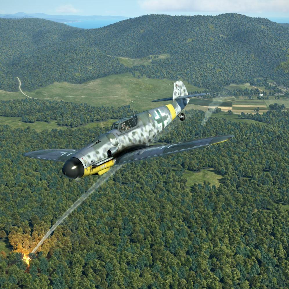 Bf109G-6-smashedhim
