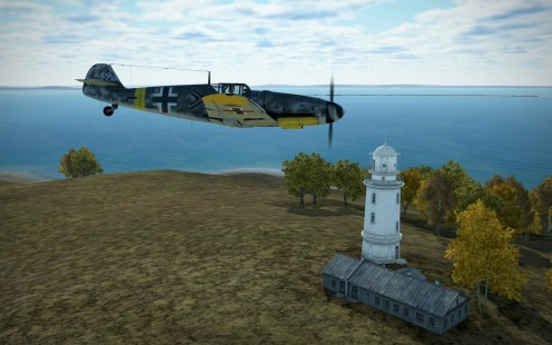 Bf109G-6-the-lighthouse