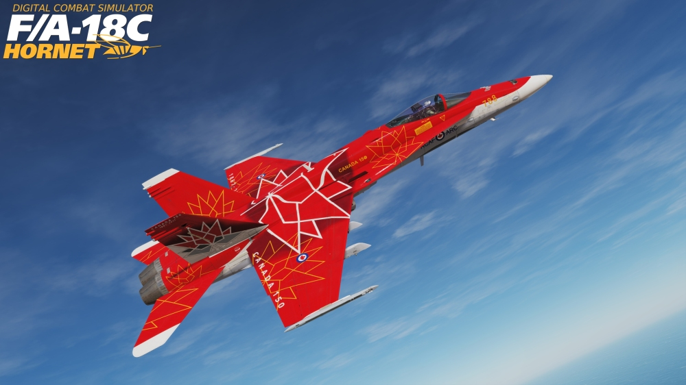 Canadian and Australian skins appear for DCS: F/A-18C