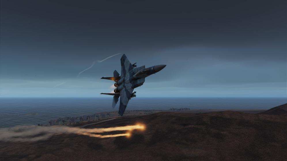 F-15C-Persian-defensive-flare