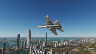 F-18-skyline