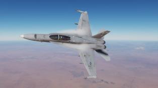 F-18-turn