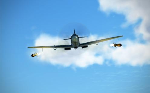SpitfireIXe-rocket-away