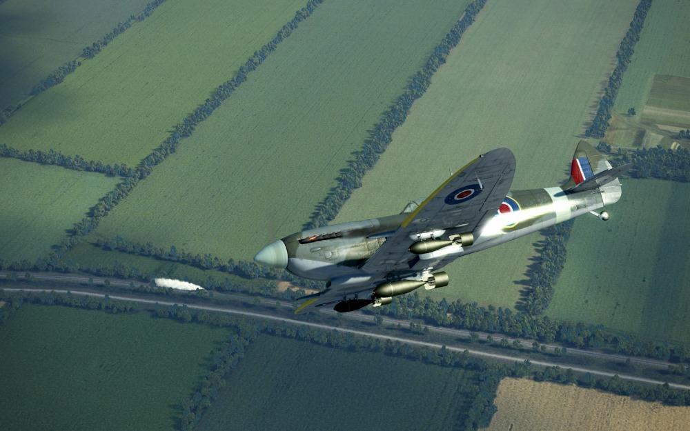 SpitfireIXe-trainhunter