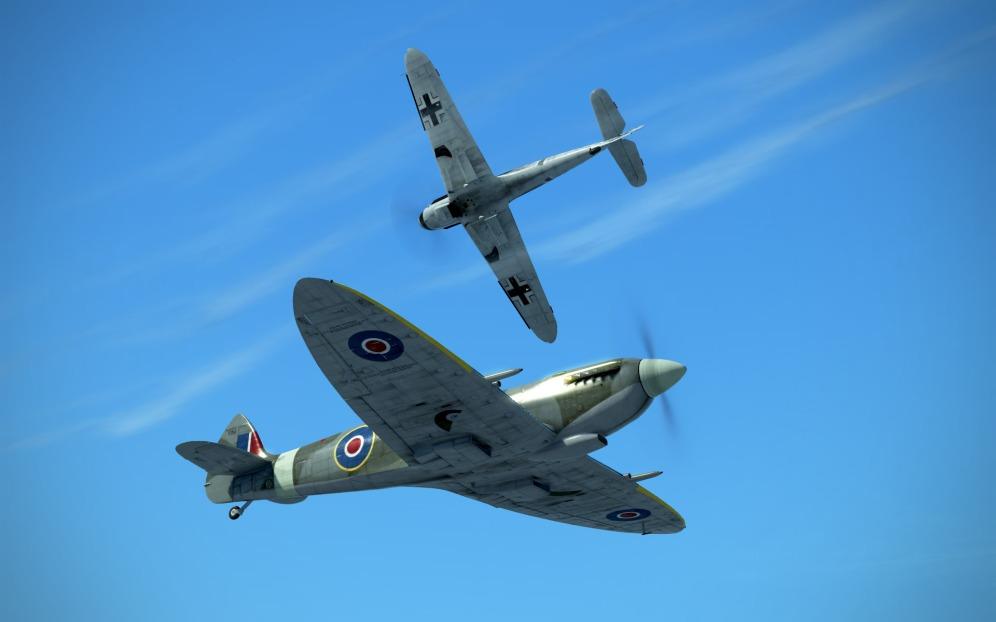 SpitfireIXe-VS-Bf109G-14