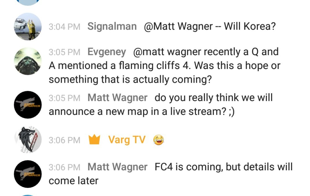 Wags confirms FC4 is coming in stream chat - Imgur