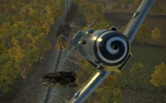 Bf109G-14-jabo-road-fire