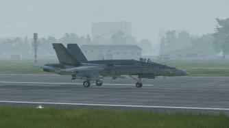 CF-18-rain-landing