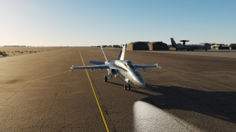 F-18-al-dafra-e3-taxi