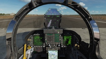 F-18-cockpit-on-the-runway