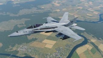 F-18-practice-run
