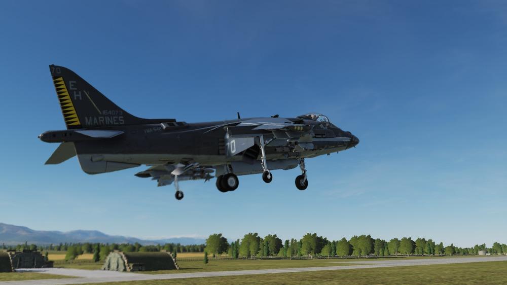 AV-8B-hover