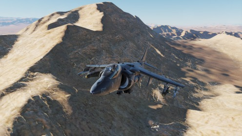 AV-8B-nevada-mountain