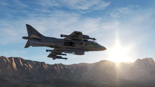 AV-8B-sunlit
