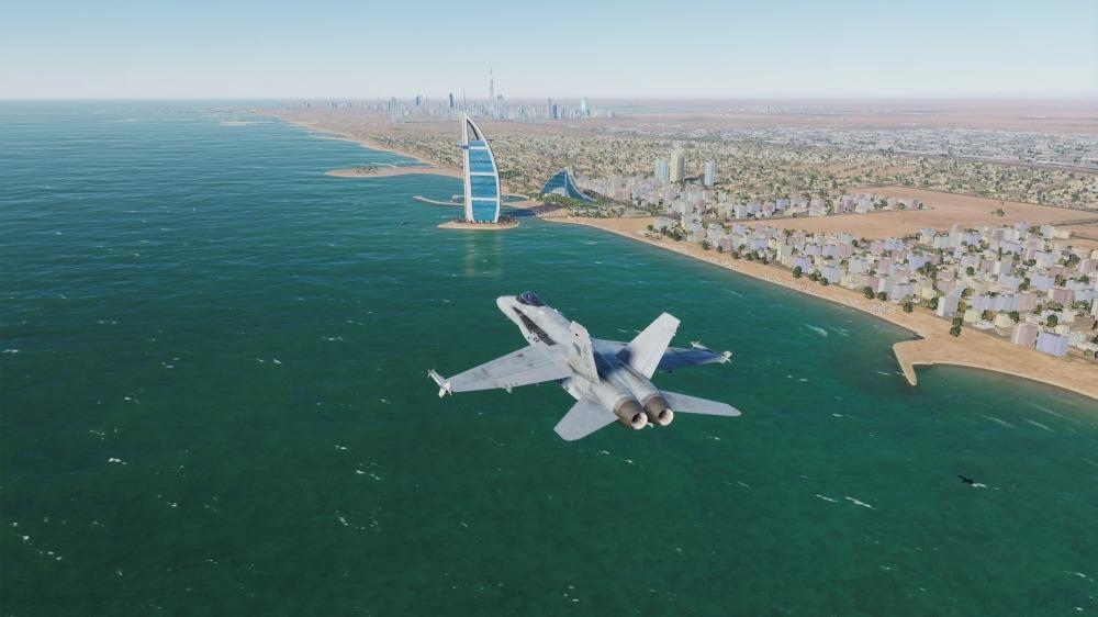 F-18-dubai-distance