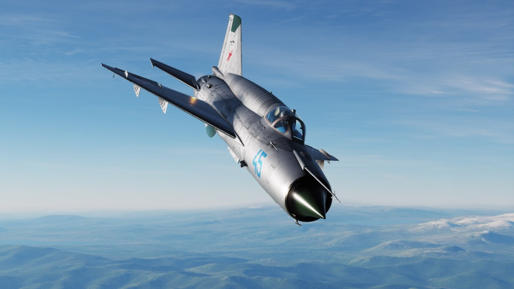 MiG-21-nose-on
