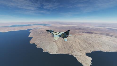 MiG-29-Bakhtegan-park-lakes