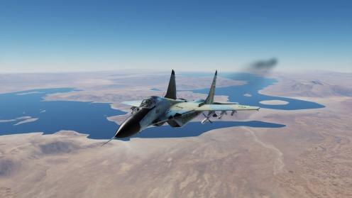 MiG-29-Bakhtegan-park-lakes2