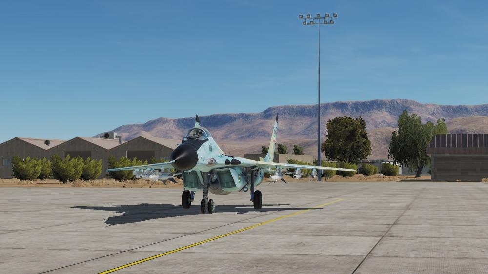 MiG-29-Shiraz-parked