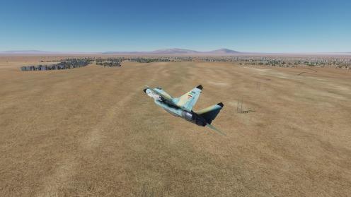 MiG-29-Sirjan-overflight-low