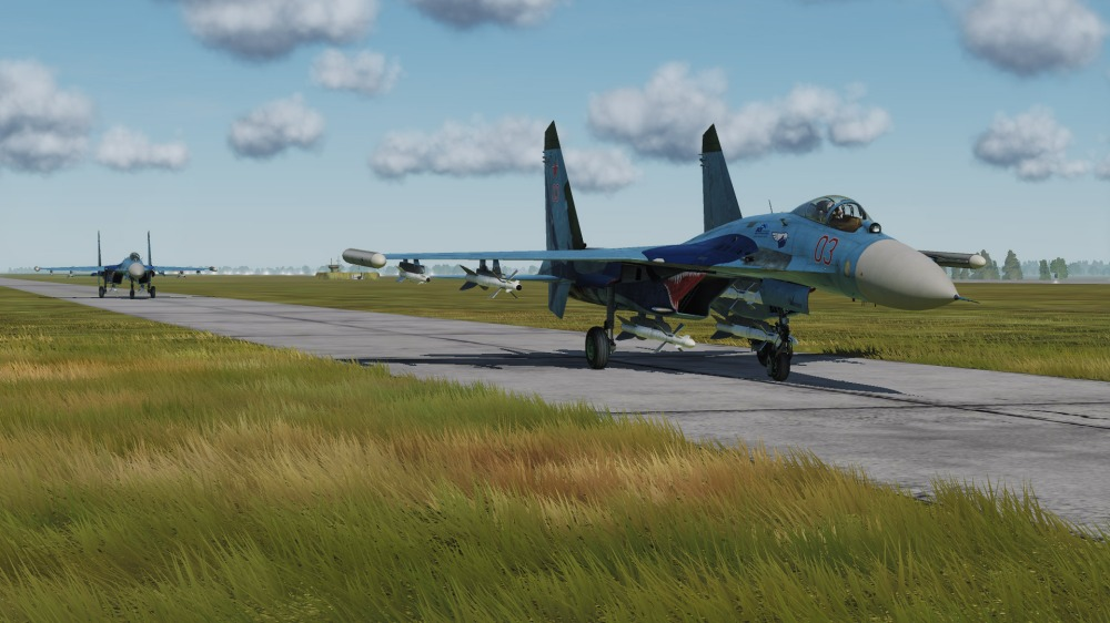 Su-27-two-flankers