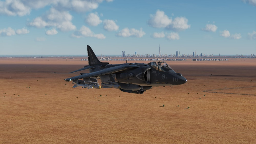 AV-8B-dubai-skyline