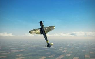Bf109G-6-nose-high