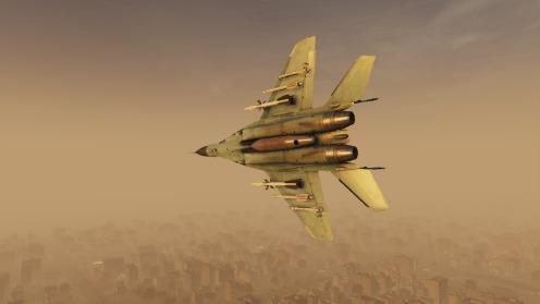 MiG-29-dusty-break