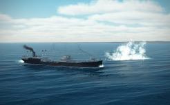 Cargoship-splash