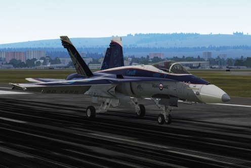 CF-18 2018 demo team scheme in DCS...