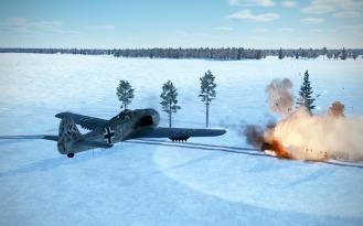 FW190F-8-rocket-attack-train-explode