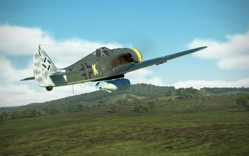 FW190G-8-SC1000-full-load-takeoff